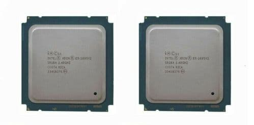 2x Intel Xeon E5-2695 v2 12-Core 2.4GHz Processor 30MB Cache SR1BA Ivy Bridge EP