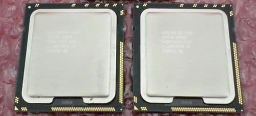 2x Intel Xeon E5506 2.13GHz Quad Core 4MB Cache CPU Processor SLBF8 LGA1366