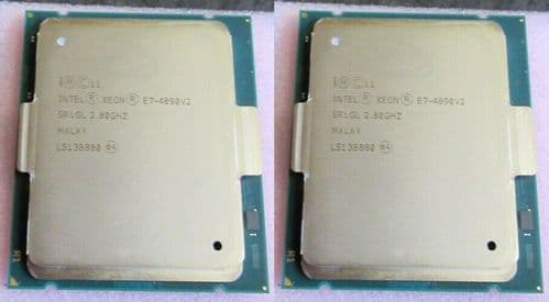 2x Intel Xeon E7-4890V2 15-Core 2.80GHz 37.5MB Cache LGA2011 Processor CPU SR1GL