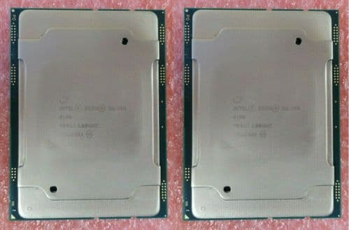 2x Intel Xeon Eight-Core Silver 4108 1.80GHz Server CPU Processor SR3GJ LGA3647