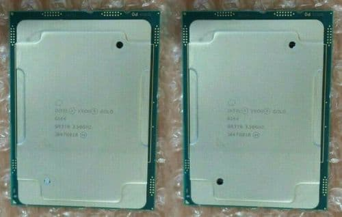 2x Intel Xeon Gold 6144 Eight-Core 3.50GHz Server CPU Processor SR3MB LGA3647