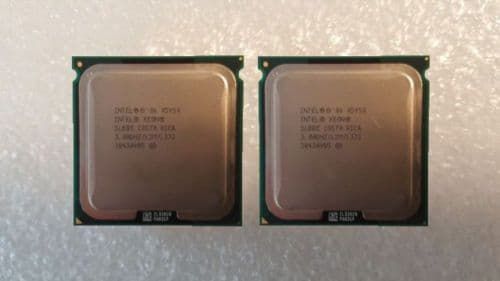 2x Intel Xeon X5450 Quad Core 3.00GHz 12MB LGA771 Server Processor CPU SLBBE