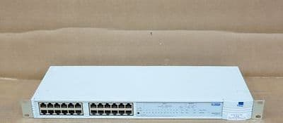 3Com PS Hub 40 SuperStack II SSII 3C16406 24-Port 10Mbps Ethernet Network Hub