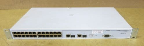 3Com SuperStack 3 Layer 10/100 24 Port Network Switch 3226 3CR17500-91