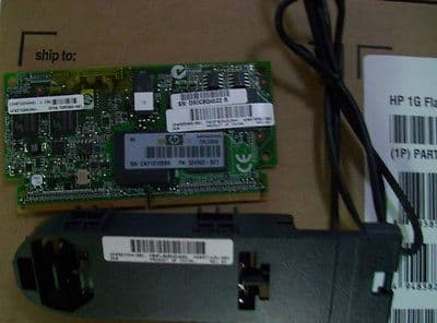 534562-B21 505908-001 570501-002 HP 1GB FLASHED BACKED WRITE CACHE