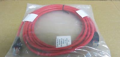 7 x NEW HP 286594-001 Cat5 Interface Patch Leads Red RJ45 12 Foot