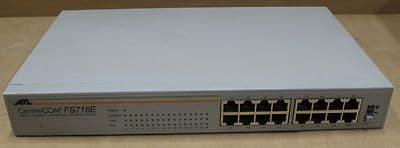 ATI Allied Telesyn International CentreCOM FS716E 16-Port Network Hub, HAMRP008