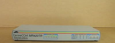 ATI Allied Telesyn International CentreCOM MR420TR Multiport Micro Hub Repeater