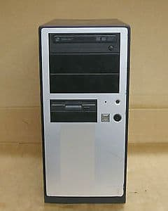 Antec NSK4000 Black & Silver Mini Tower AMD Athlon 64 3000+ 768Mb RAM 200Gb HDD