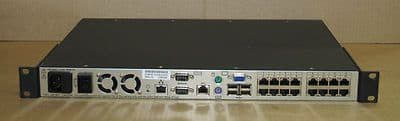 Avocent DSR1020 16-Port KVM Over IP Switch 1 local, 1 digital Users 520-364-009