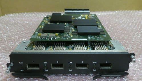 Brocade Foundry Networks RX-BI4XG 4 Port - 10GbE XFP Module 35519-002 35551-001