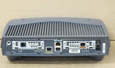 Cisco 1701 ADSL Security Access Router WIC 1ADSL & WIC 1BS/T