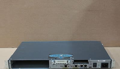 Cisco 2611XM 2-Port 1U Wired Router Networking Equipment CCNA CCNP CCIE