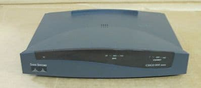 Cisco 800 Series 827 10 Mbps 1-Port ADSL Ethernet  Wired Router 47-1733-01