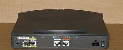 Cisco 801 ISDN Ethernet Wired Network Router CISCO801 CCNP