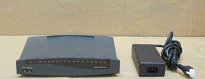 Cisco 803 4-Port ISDN Ethernet Wired Network Router Cisco 800 Series
