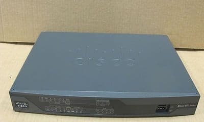 Cisco 892 890 Gigabit Ethernet Security Router - Router - ISDN - 8-Port Switch