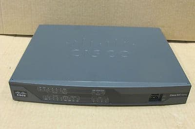 Cisco 892-K9 890 Gigabit Ethernet Security Router - Router - ISDN  8-Port Switch