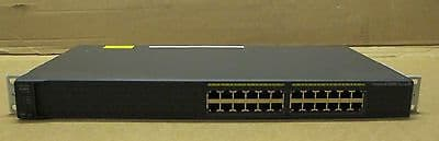 Cisco Catalyst 2960 - 24 Port Ethernet Managed Rack Mount Switch - WS-C2960-24-S