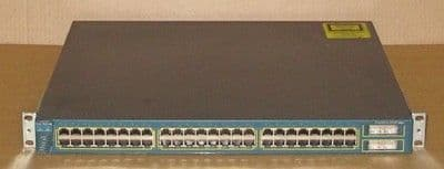 Cisco Catalyst 3550 WS-C3550-48-SMI 48-Port + 2 GBIC Slot Fast Ethernet Switch