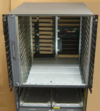 Cisco Catalyst 5500 Series WS-C5500 Modular Switch Chassis With Fans
