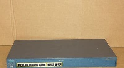 Cisco Catalyst WS-C2950-12 12-Port Fast Ethernet Network Switch No Rack Ears