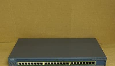 Cisco Catalyst WS-C2950-24 24-Port Fast Ethernet Network Switch - No Rack Ears