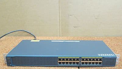Cisco Catalyst WS-C2960-24-S 24 Port Managed Fast Ethernet Network Switch