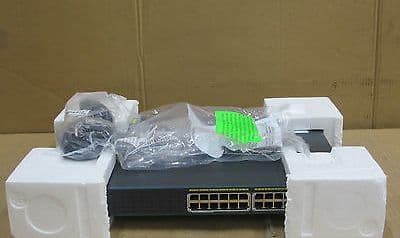 Cisco Catalyst WS-C2960-24PC-S 24 Port Managed Ethernet Rack Mountable Switch