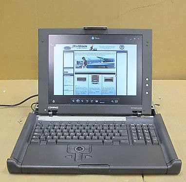 "Compaq - TFT5600 RKM - 1U Rackmount 15"" Console Monitor And Keyboard / Mouse"