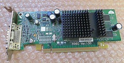 DELL ATI PCI-EXPRESS 102A2590500 128MB 8960 SERIES VIDEO CARD DP/N: P4007