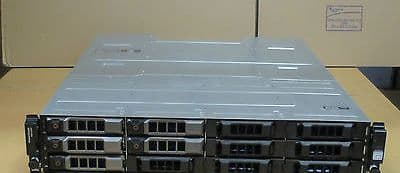 DELL POWERVAULT MD1200 12 BAY STORAGE 6GBPS SAS DUAL EMM with 12 x caddies