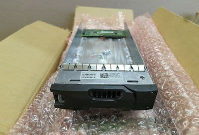 Dell EqualLogic SATA Caddy and interposer 0950480-03 K3GGP 0933949-01