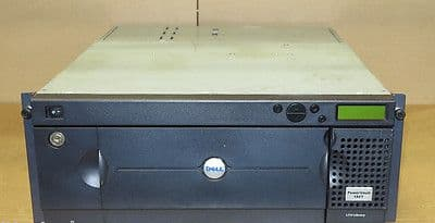 Dell PowerVault 132T SC24 0R0097 R0097 Tape Autoloader Library w/ LTO2 Drive