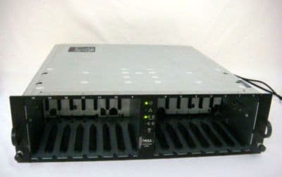 Dell PowerVault 220S 14 bay 2 x U160 SCSI Drive Storage Array