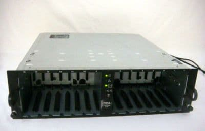Dell PowerVault 220S 14 bay 2 x U320 SCSI Drive Storage Array