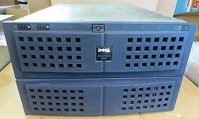 Dell PowerVault 650F - 6.5U, Fibre Channel Disk Array Enclosure 8x 36Gb HDD