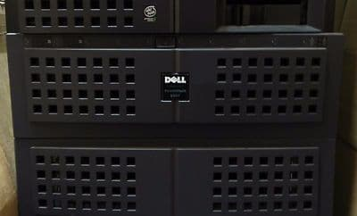 Dell PowerVault 650F rackmount Disk-Array Processor (DPE) storage system
