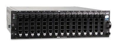 Dell PowerVault MD1000 15-Bay Drive Storage Array DAS 15 x Dell 1TB = 15TB
