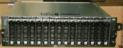 Dell PowerVault MD1000 15 bay drive Storage Array with 15 x SAS/SATA caddies