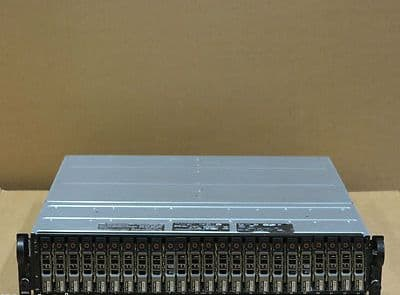 Dell PowerVault MD1120 SAS Storage Array 24x 300Gb 6Gbs Hard Drives 2Controllers