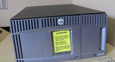 Dell PowerVault ML6000 Tape Library Autoloader for ML6010 CM - no drive included