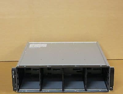 EqualLogic PS6000XV iSCSI SAN Storage Array Shelf With 2 x Control Module 7