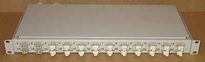 Fibre Channel 24-Port Rack Mount Patch Panel - Fibre Optic Network