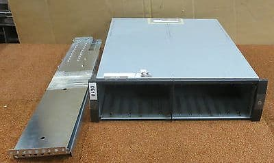 Fujitsu 15DE Storage 15 Drive Bay Array CA06800-B101 With Rails + Rack Mount Ear