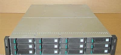 Fujitsu Siemens FibreCAT SX80 Storage Array 12x 750Gb HDD 2x PS 2x Controllers