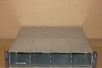 Fujitsu Siemens FibreCAT SX80 Storage Array 2x PS 2x modules