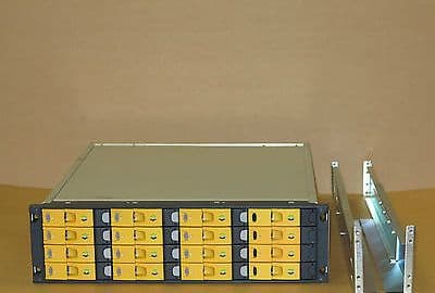 HP 3PAR 16-Bay SAN  F-Class Storage Array 14x 400Gb 4GB FC HDD 2x Cont, 2x PS