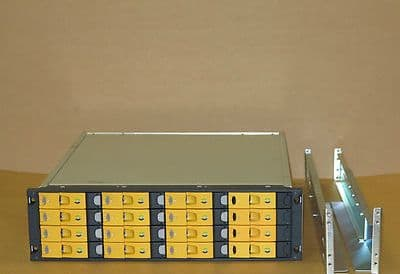 HP 3PAR 16-Bay SAN InServ E200 Storage Array 12x 400Gb 4GB FC HDD 2x Cont, 2x PS
