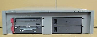HP DAT 40 C7497C + 1 DVD RW In HP StorageWorks 5300 Tape Array C7508-60065